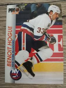 Karta Pro Set 92-93 č. 108 Benoit Hogue