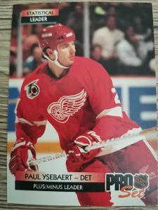 Karta Pro Set 92-93 č. 248 Paul Ysebaert