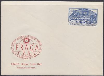 CELINOVÁ OBÁLKA 1962 č.: COB15 - PRAGA - nepoužitá