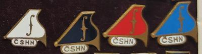 P86 Odznak ČSHN - československé hudební nástroje  4ks