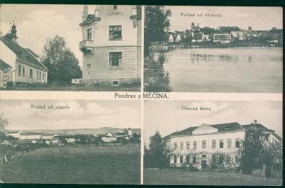 10D1519 Pohlednice Měčín, do Trnovany