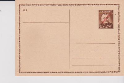 Výpredaj - ČSR II. - Lístok CDV 77  -  Nepoužitý    !!!