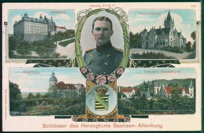 27A122 Zámky Eisenberg, Altenburg, Hummelshain, Fröhliche Wiederkunft