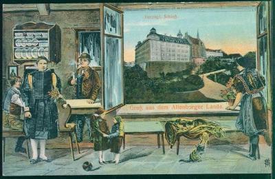 27A123 Vévodský hrad Altenburg