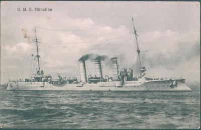 30A378  Válečná loď S.M.S. München