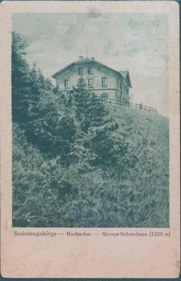 10D395 Jeseníky - Šerák - chata Jiřího - Pohlednice