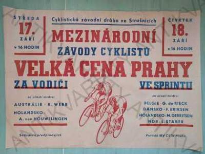 Velká cena Prahy Mezinárodní závody cyklistů