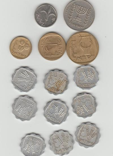 mince izrael - Numismatika