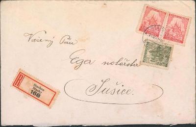 12B799 R dopis Stachy - Sušice
