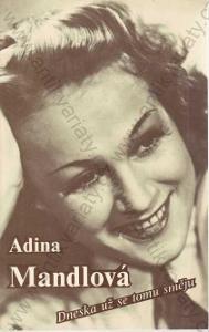 Adina Mandlová Dneska už se tomu směju 1977