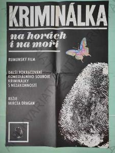 Kriminálka na horách i na moři Theisz film plakát