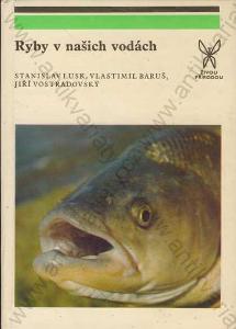 Ryby v našich vodách Lusk,Baruš,Vostradovský 1983