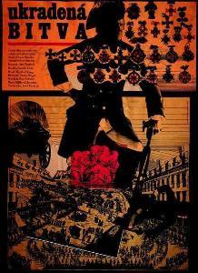 Ukradená bitva Zdeněk Ziegler film plakát A3 Liška