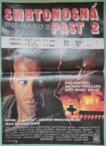 Smrtonosná past 2 Die Hard 2 film plakát A3 Willis