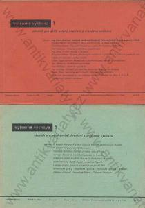 Výtvarná výchova 1-4, ročník III. 1936