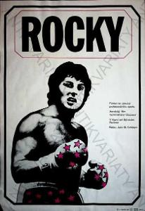 Rocky Jan A Pacák film plakát A3 Sylvestr Stallone