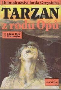 Tarzan z rodu Opů Edgar Rice Burroughs Paseka 1991