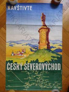 Navštivte český severovýchod Melichárek plakát A1