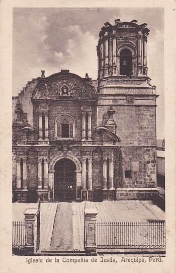 PERU - AREQUIPA - KOSTEL - 5-NW45