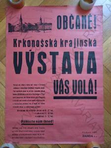 Krkonošská krajinská výstava Vás volá! plakát A1