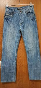 Super dámské široké džíny, vysoký pas!!!