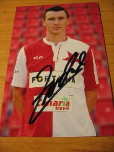 Jaromír Zmrhal - Slavia Praha - orig. autogram