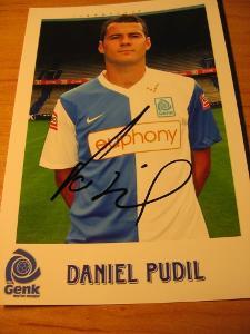 Daniel Pudil - Genk - orig. autogram