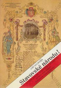 Stavovské národu! Historie divadla J. Hilmera 1991