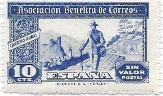 Známka starého Španělska od koruny ** - strana 11 - Filatelie