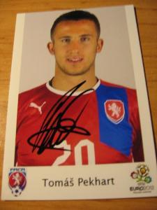 Tomáš Pekhart - ČR - orig. autogram