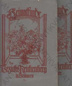 Geschichte des Reichenberger Bezirkes I a II 1936