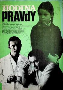 Hodina pravdy film plakát A3 Matějka Brodský Liška