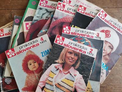 Praktická Slovenka - 15 ks - převážně 70. léta