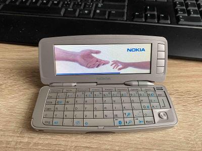 Nokia 9300 Communicator, nesehnatelné, historické, vzácné, rarita!