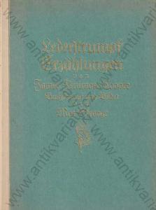 Lederstrumpf Erzählungen Die Ansiedler 1922