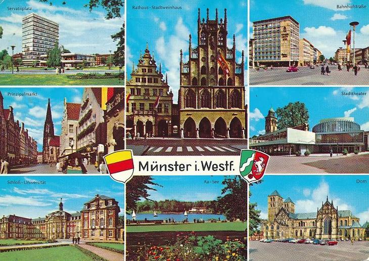 Münster - Pohlednice