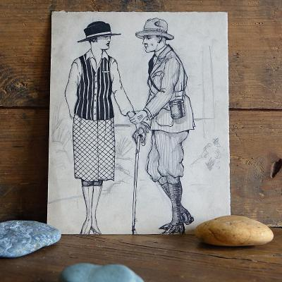 Stará kresba