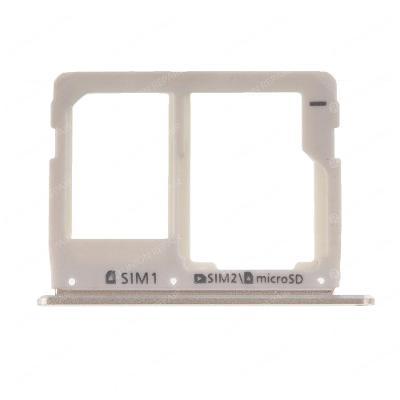 Držák SIM a SD karty Samsung A3 A5 A7 2016 Gold