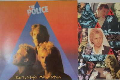 The Police – Zenyatta Mondatta LP 1980 vinyl NL 1.press super stav EX+