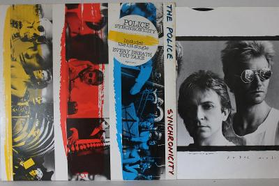 The Police – Synchronicity LP 1983 vinyl NL 1.press super stav EX