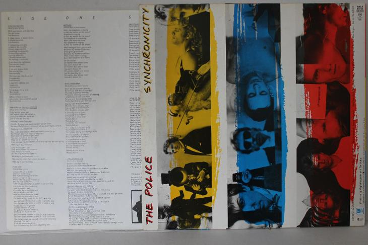 The Police – Synchronicity LP 1983 vinyl NL 1.press super stav EX - Hudba