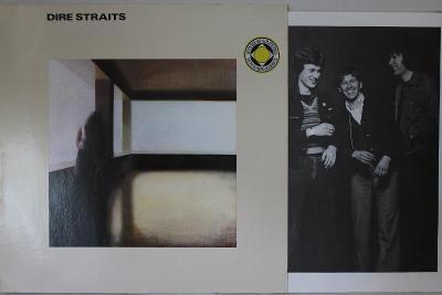 Dire Straits 1.Album LP 1978 vinyl Germany RI Red Labels super stav EX