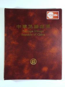 3803 Sbírka známek ČÍNA +luxusní ročníkové album