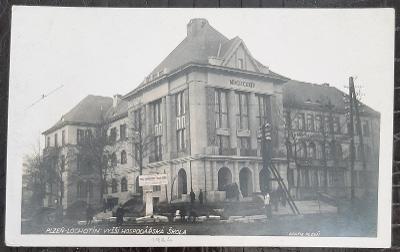 Plzeň-město Lochotín Vyšší hospodářská škola exteriér