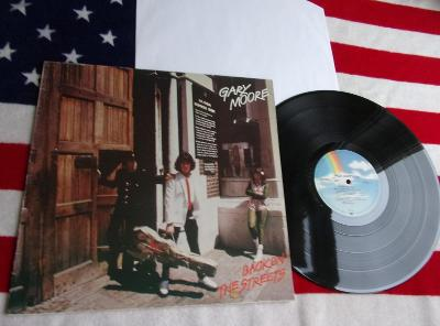 💥 LP: GARY MOORE - BACK ON THE STREETS, West Germany ℗1978
