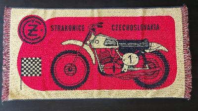 Originál retro ručník ČZ MOTOKROS