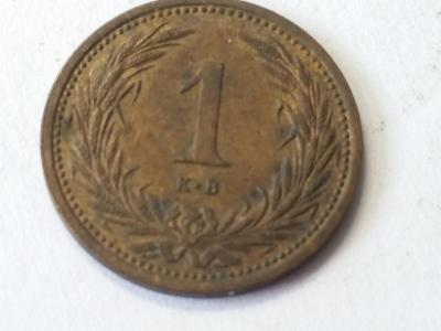 Rakousko-Uhersko FJI - 1 fillér - 1902 KB