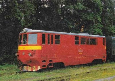 LOKOMOTIVA TU 47.0015 - POHLEDNICE - 408-SQ6