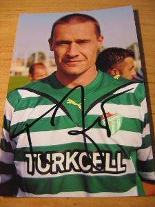 Tomáš Zápotočný - Bursaspor - orig. autogram
