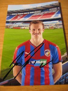Jan Kopic - V. Plzeň - orig. autogram